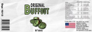 Buffout Label by appleofecstacy