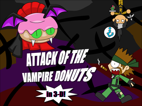 Attack of the Vampire Donuts by UMSAuthorLava