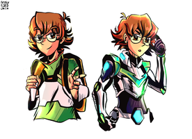 Pidge doodles by MarlonLeal