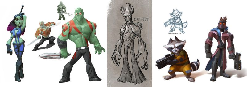 Disney Infinity Guardians of the Galaxy by Artsammich