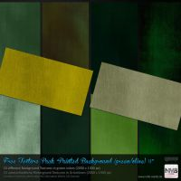 Texture Stock Pack #7 Painted Backgrounds (green) by Hexe78