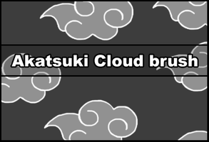 Akatsuki Cloud brush by Faeth-design