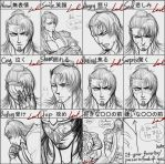 Expressions practice-Yasha ver by myleel