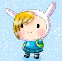 Mini Fionna ::COLORED:: by DanaDani