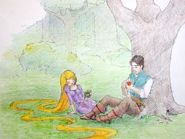Tangled: Rest Stop by HgwrtsExchngeStdnt