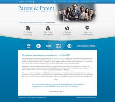 Web Design: Parent and Parent LLC by ab6421