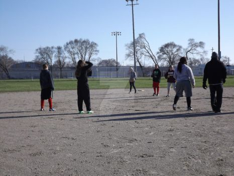 Softball Practice (16) 4-15-14 by WantsToLoseHerMask