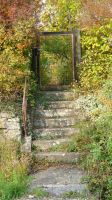 old gate I by mimose-stock