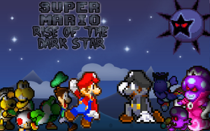 SMB: Rise of the Dark Star First Cover by babyluigi957