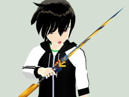 MMD - Oh Look, a Sword by YellowDesuCake