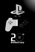 PlayStation 20th Anniversary Drawing by SuperSmash3DS