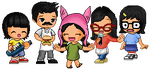 Fantage Customs TOTW 42: Family - Bobs Burgers by red3438