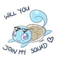 No.004 - Squirtle by Moo-feeler