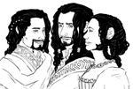 the Hobbit : sons of Erebor by LadyNorthstar
