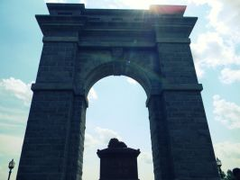 The Memorial Arch I by LoveEqualsArt