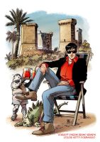 Dylan Dog 4colonne - collabora by kettyformaggio