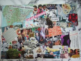 COLLAGE SOMETHING AMERICAN by FRANTASEE