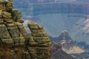 Grand Canyon Rock Spires by charlesheadphotos