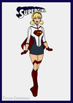 Supergirl Redesign by Femmes-Fatales