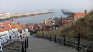 Whitby Steps (4) by PaulineMoss