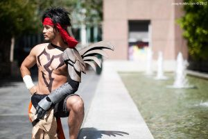 Jecht Cosplay. Father of the Millenium. by JFamily