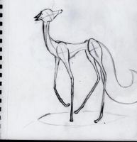Spindly Fox by Swiftstone