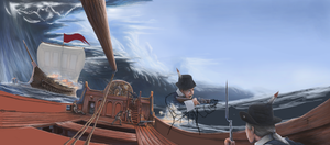 WIP v2 - North Sea Battle by Aanker