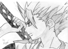 Toshiro Hitsugaya close by Ravenarkh