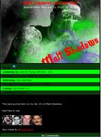 Matt Shadows Journal Skin by DragonA7X