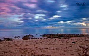 Point Lonsdale Beach Sunset by DanielleMiner