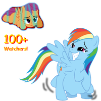 100 Watchers special by DashieVore