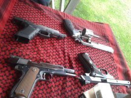 Range Day - Handguns by TheWarRises