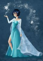 Rukia - The Snow Queen by Maki89Maringolo