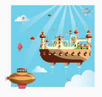 Castle in the sky by mapache87