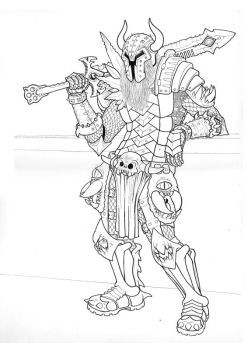 Hell Knight Lines by fenix42
