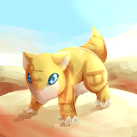 #27: Sandshrew by CynicalAshhole