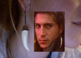 Lost Boys Dwayne earring by vampelizabeth