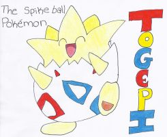 Togepi by totallysd