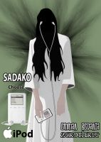 sadako on ipod by emman03