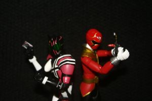 Kamen vs Sentai by TanshinKun