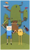 Nerd Love: Adventure Time by renton1313