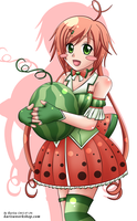 Miss Watermelon by KurisuWS
