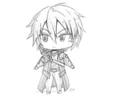 Chibi: Kirito by animatic01