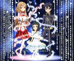 .: Sword Art Online : Infenity Moment :. by Sincity2100