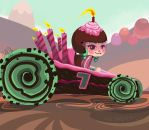 Candlehead the Racer by artistsncoffeeshops