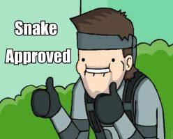 Snake Approves by AlphaMoxley95