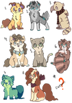 Design AUCTIONS #1 (points) by fledglings