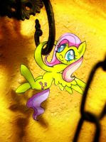 Little Real Fluttershy by slaugthervk