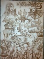 DANTES INFERNO ALMOST COMPLET by H3cT0r-Dibujos