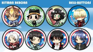 Hitman Reborn button set by jinyjin